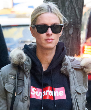 Pregnant Nicky Hilton Ditches Her Frilly Dresses for a Cool Supreme Hoodie