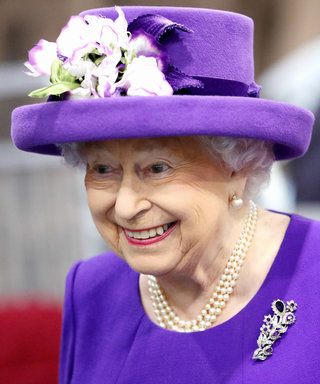 Queen Elizabeth Could Not Look More Amused by This Amazing Cake of Herself