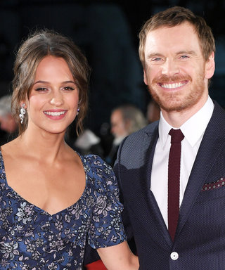 Alicia Vikander and Michael Fassbender Have the Hottest Couple Style, Even Fresh Off a Plane