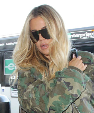 Pregnant Khloé Kardashian Has a New Way to Camouflage Her Baby Bump