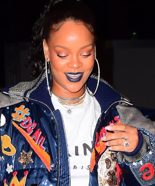 Rihanna Is Sporting a Gigantic Ring on Her Wedding Finger