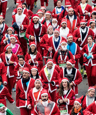15 of Our Favorite Looks from SantaCon NYC