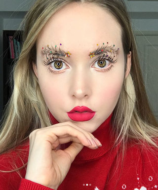 """Christmas Tree Brows"" Are the Latest Brow Trend, and We Don't Know How to Feel"