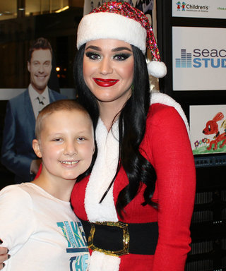 Katy Perry Spreads Holiday Cheer at Atlanta Children's Hospital Dressed as Mrs. Claus