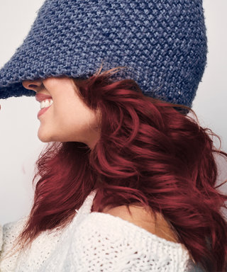 Mulled Wine Is the Festive Hair Color Trend Taking Over This Holiday Season