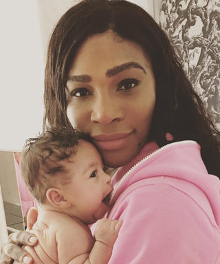 Serena Williams's Baby Girl Alexis Is Already Following in Mom's Athletic Footsteps