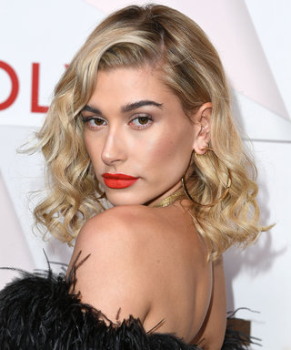 Hailey Baldwin Works Out in a Lacy Bra and Thong for Love's Advent Calendar