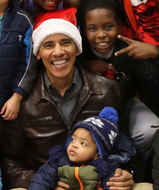 Barack Obama Wore a Santa Hat to Surprise Kids at a Boys & Girls Club