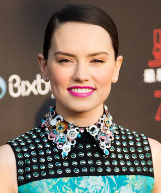Daily Beauty Buzz: Daisy Ridley's Rose Gold Eyeshadow