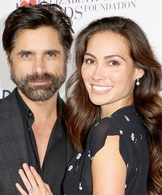 John Stamos and Caitlin McHugh Spotted for First Time Since Pregnancy Reveal