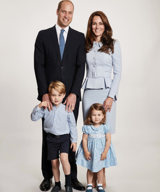 The Royal Family Takes a Trip to Space in a New Version of Their Christmas Card