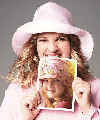 Watch Drew Barrymore Recreate Her Most Iconic, Nostalgic Photos for Our Cover Shoot