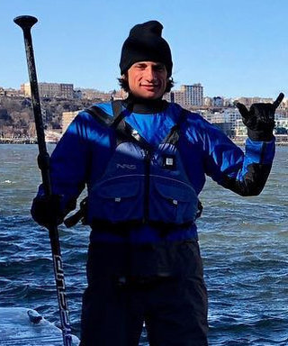 JFK's Only Grandson Jack Schlossberg Went on an Intense Frozen Paddleboarding Adventure