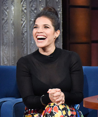 Pregnant America Ferrera Tells Stephen Colbert What She Won't Be Naming Her Baby
