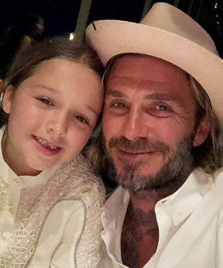 David Beckham Recreates the Lady and the Tramp Spaghetti Scene with His 6-Year-Old Daughter