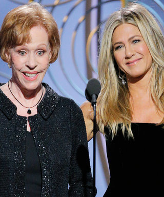 Jennifer Aniston (and Her Phenomenal Hair) Get Hilariously Shaded by Carol Burnett