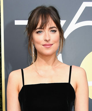Dakota Johnson's Golden Globes Dress Has the Most Unexpected Back Detail