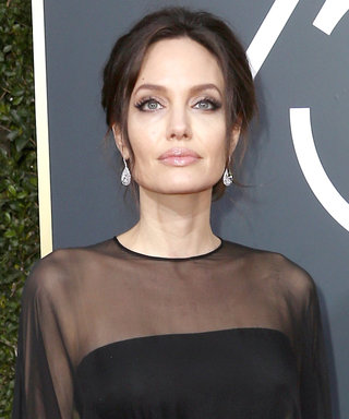 Angelina Jolie Brought Her 14-Year-Old Son Pax as Her Golden Globes Date