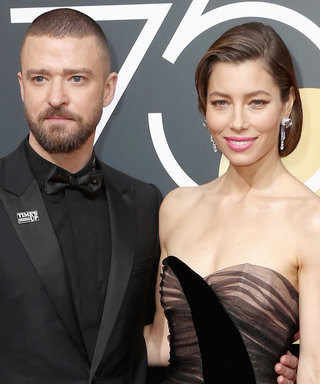 Justin Timberlake and Jessica Biel Gush About Each Other at the Golden Globes
