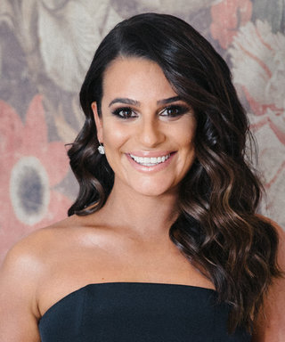 See How Lea Michele Got Ready for the 2018 Golden Globes