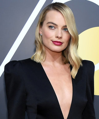 Margot Robbie Has the Flu at the Golden Globes but Hasn't Let It Stop Her