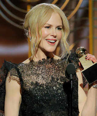 Nicole Kidman Credits Her Mom's Activism for Her Success in a Moving Golden Globes Speech