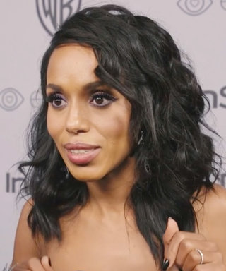"Kerry Washington's ""Woman Crush"" Is a Major Golden Globes Trend"