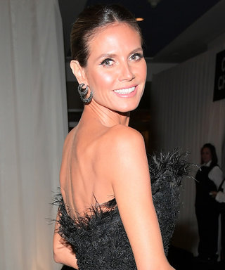 Heidi Klum Thinks the Golden Globes Red Carpet Dress Code Should've Been a Different Colour