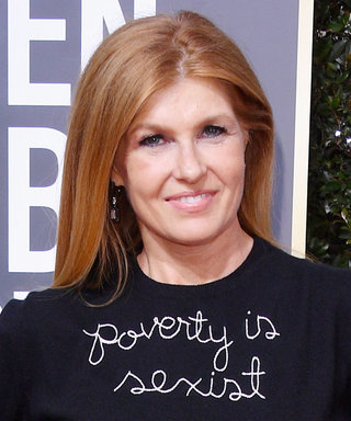 """Connie Britton Claps Back at Her Golden Globes """"Poverty Is Sexist"""" Sweater Critics"""