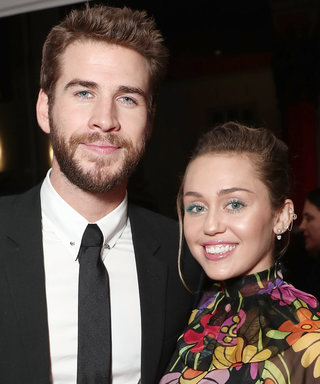 Miley Cyrus Grabs Lunch with Liam Hemsworth in a Bikini Top and Denim Shorts
