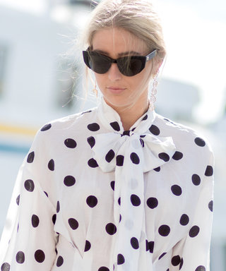 Get Spotted in 9 Chic Polka Dot Tops