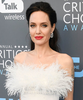 Angelina Jolie Swapped Her Go-To LBD For A Stunning White Dress At Critics' Choice Awards