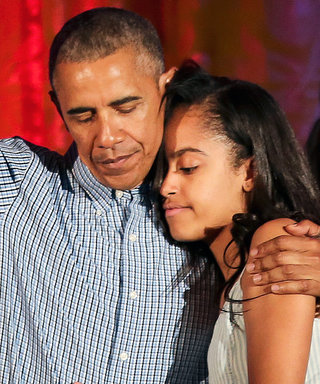 Barack ObamaCouldn't Assemble a Lamp WhileMoving Malia Into Her College Dorm