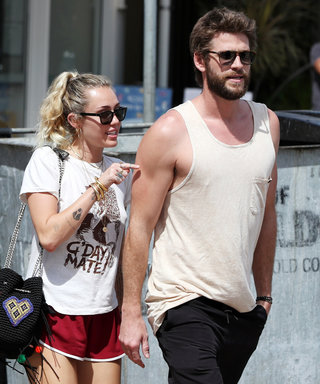 Miley Cyrus and Liam Hemsworth Adorably Hold Hands While Grabbing Lunch with His Parents