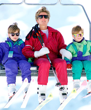 Let The Royals Show You How To Dress the Kids For The Slopes