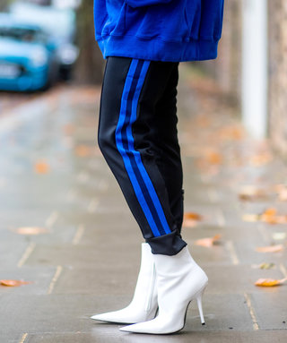 The Comfortable (and Stylish) Shoes to Wear With Your Track Pantsthis Season