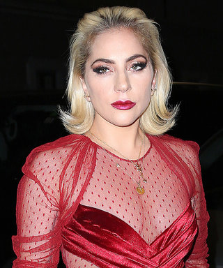 Lady Gaga Just Shut Down the Streets of Milan in the Sexiest Red Dress