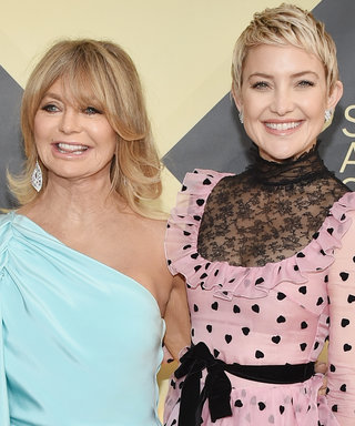 Kate Hudson and Goldie Hawn Were the Cutest Mother-Daughter Duo at the 2018 SAG Awards