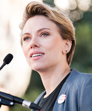 Scarlett Johansson Calls Out James Franco at the Women's March