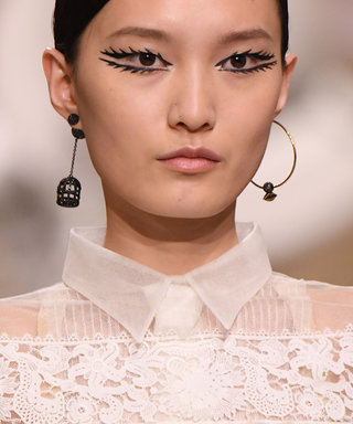 The Eyelashes at Christian Dior's Couture Show Are the Longest You'll Ever See