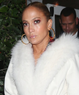 Jennifer Lopez's Glam Date Night Look Will Take Your Breath Away