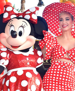 Katy Perry Channeled Her Inner Minnie Mouse at the Disney Icon's Hollywood Walk of Fame Ceremony