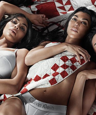 Pregnant Kylie Jenner Poses in Calvin Klein Underwear With All of Her Sisters