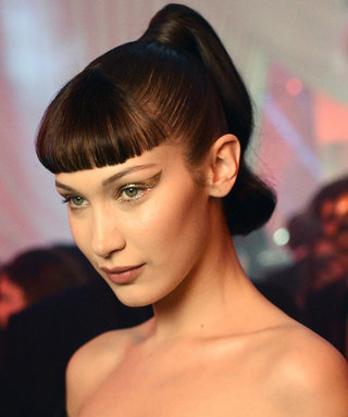 Daily Beauty Buzz: Bella Hadid's Gold Cat Eye