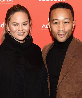 Pregnant Chrissy Teigen and John Legend Opt for Earth Tones at Sundance Film Premiere