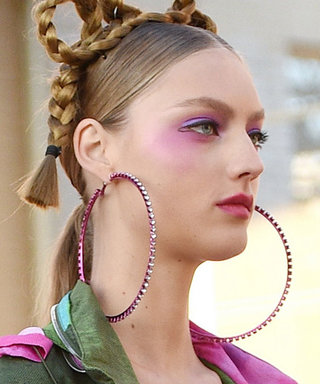 Extra Large Hoop Earrings Are Having a Moment, and We're Here for It