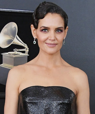 Katie Holmes Attends the Grammys After Making Rare Appearance with Jamie Foxx