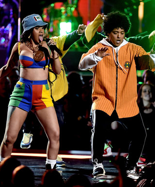 "Bruno Mars and Cardi B Took Us Back to the '90s with ""Finesse"" at the Grammys"