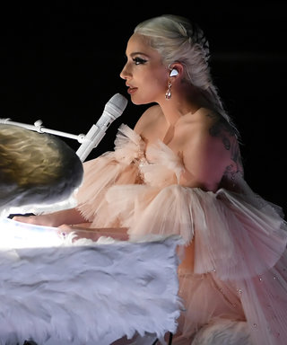 Lady Gaga Looked Like an IRL Angel During Her Emotional Grammys Performance