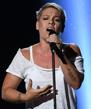 Pink Goes Barefoot for a Stripped-Down Grammys Performance